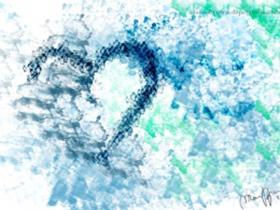 纯 Css3 绘制的心型图案